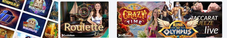Fun888 Casino Games